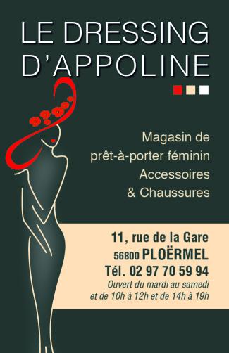 Dressing d'Appoline